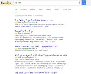 Submitting your site to search engines